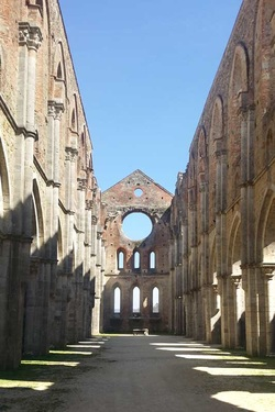 Ruins at San Galgano
